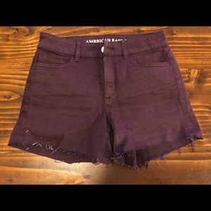 American Eagle High Rise Super Stretch Short
